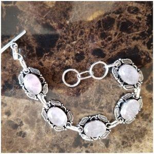 "Jewelry - Natural Rose Quartz Bracelet 8"""